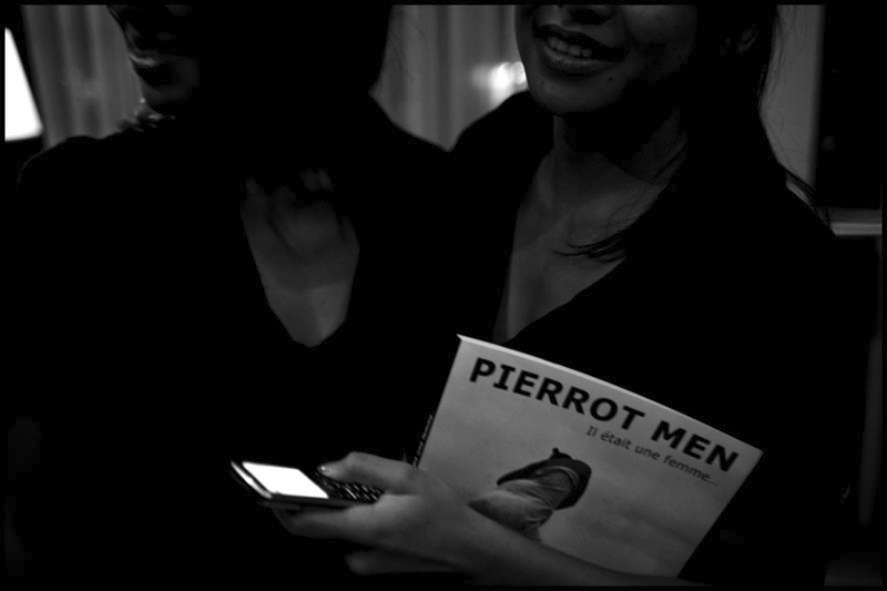 Vernissage de l\'expo Pierrot Men à l\'hôtel du Louvre