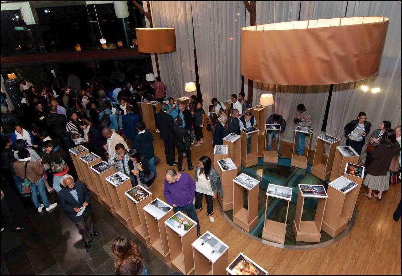 Vernissage de l'expo Pierrot Men à l'hôtel du Louvre